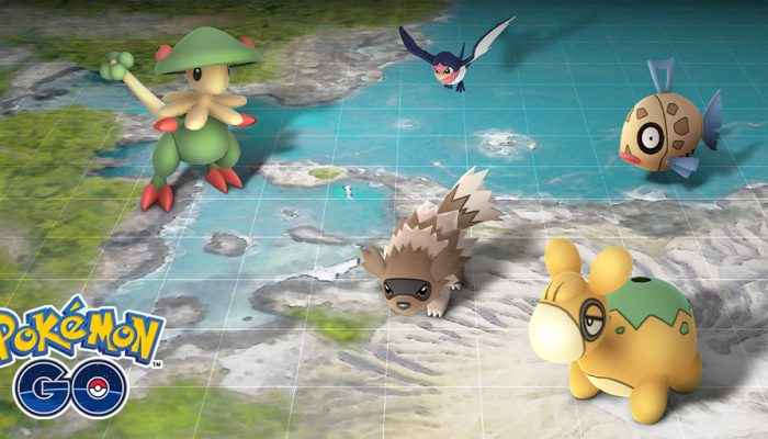 Niantic: 'Celebrate the Hoenn region during this new event!'