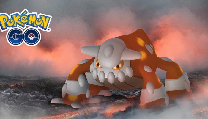 Niantic: 'Raid Battles forge into the new year with the Legendary Pokémon Heatran!'