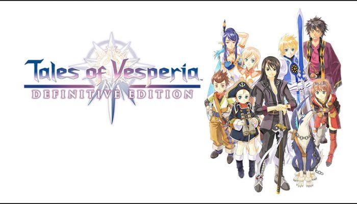 NoA: 'Begin your adventure in Tales of Vesperia: Definitive Edition'