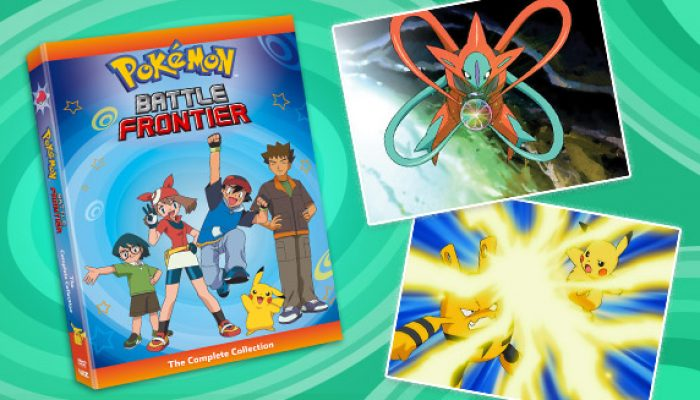 Pokémon: 'Revisit the Battle Frontier on DVD'