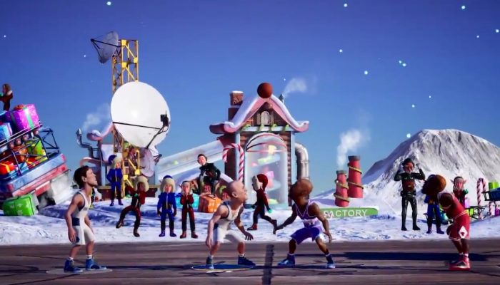 NBA 2K Playgrounds 2 gearing it up for the holidays