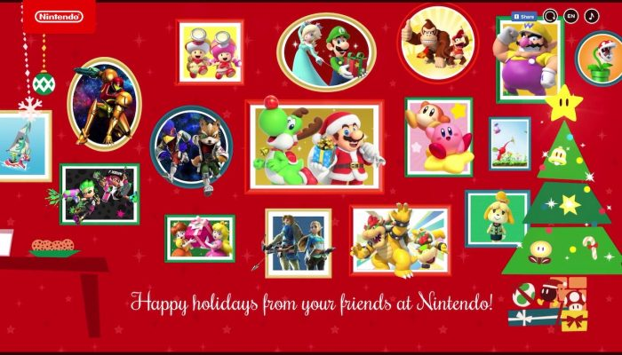 Nintendo's 2018 holiday website is live
