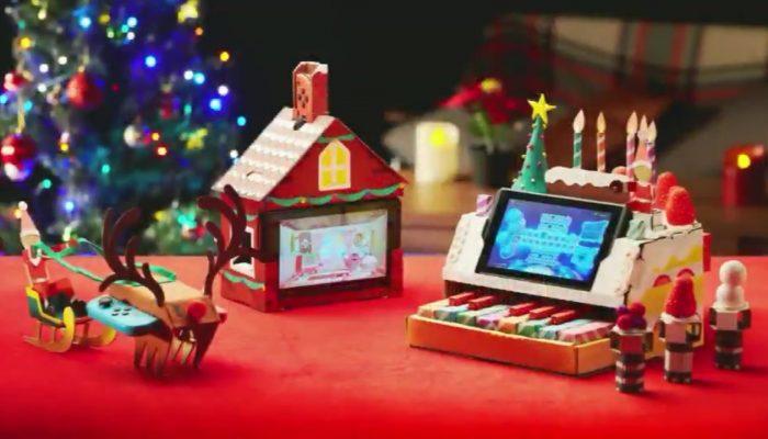 Nintendo Labo making it festive
