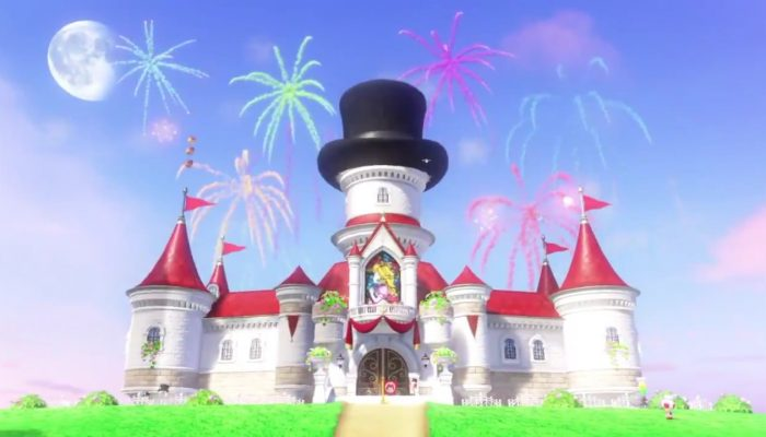 And happy new year from the Mushroom Kingdom