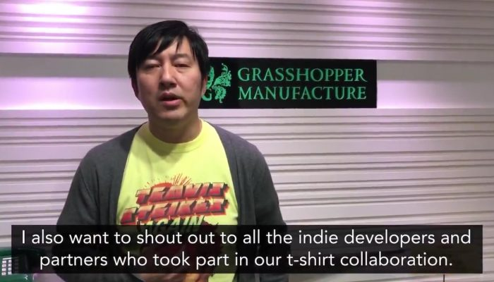 A message from SUDA51 for the launch of Travis Strikes Again No More Heroes
