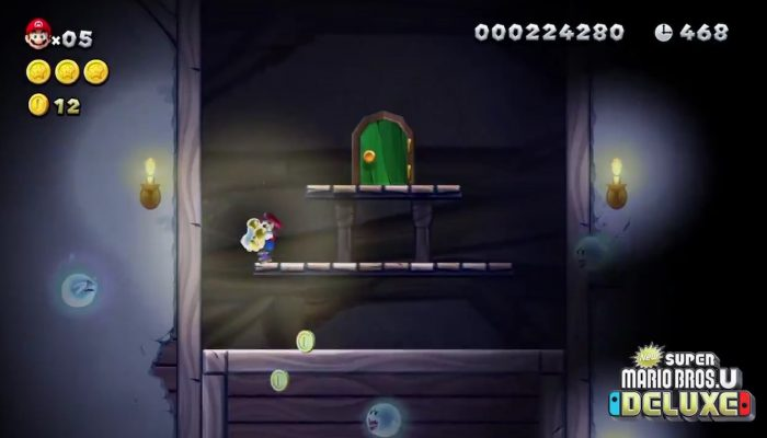 Check out the Baby Yoshis in New Super Mario Bros. U Deluxe