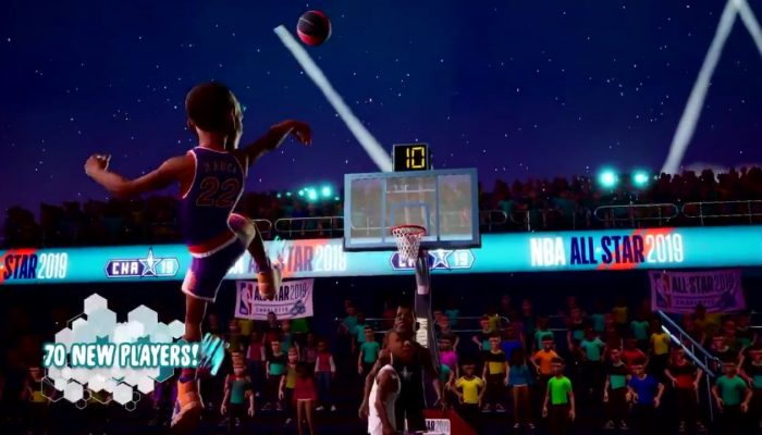 Here comes the Charlotte All Star Court in NBA 2K Playgrounds 2