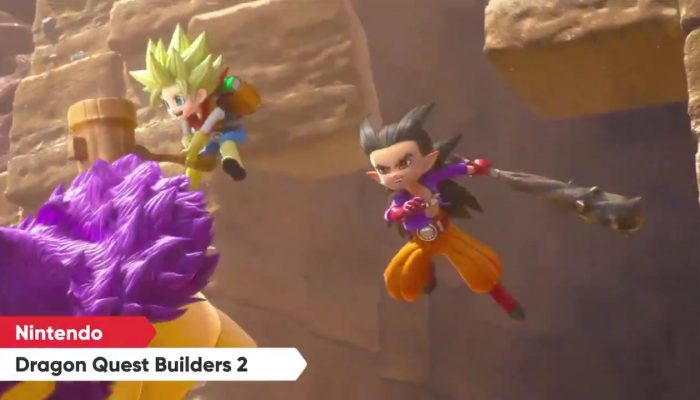 Dragon Quest Builders 2 comes to Nintendo Switch on July 12