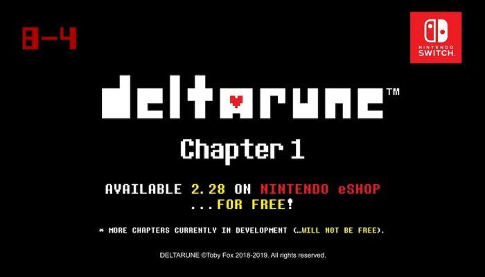 Deltarune – Chapter 1, Nintendo Direct 2.13.19