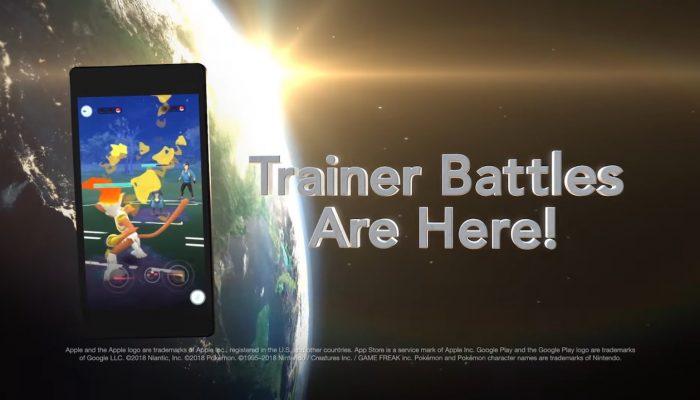 Pokémon Go – Trainer Battles Are Here!