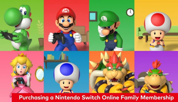 Nintendo Switch – Consumer Service: How to Get Started with a Nintendo Switch Online Family Membership