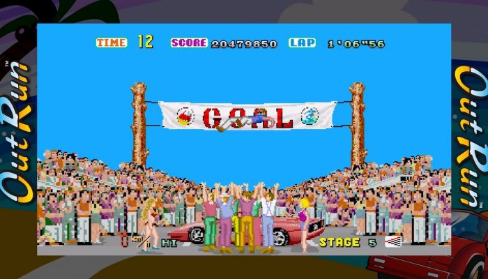 SEGA Ages – Out Run Launch Trailer