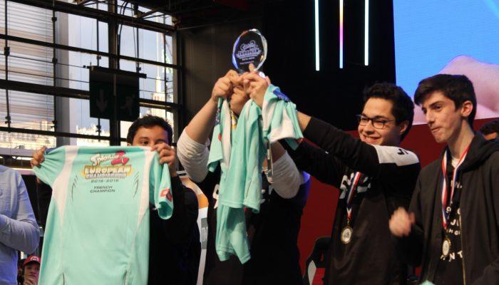 Nintendo France : 'L'équipe française Alliance Rogue : futurs champions européens de Splatoon 2 ?'