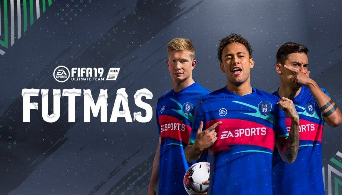FIFA 19 celebrating FUTmas on Nintendo Switch