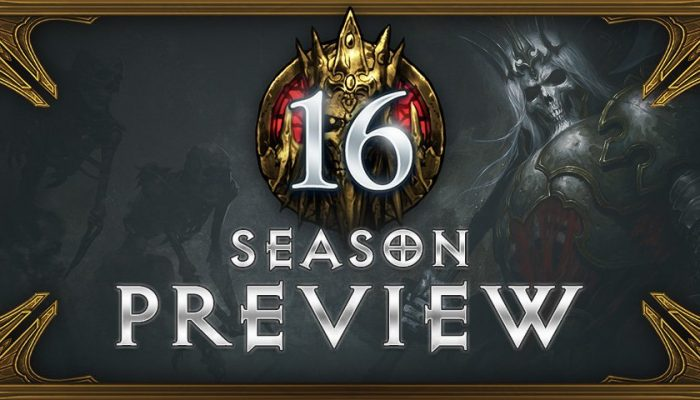 Introducing Diablo III's Season 16