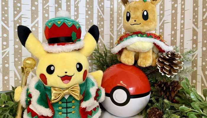 Time for Pikachu and Eevee to celebrate the new year