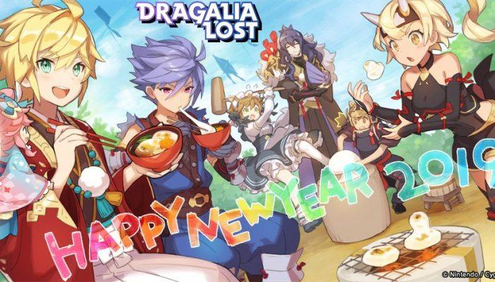 Dragalia Lost's team wishing you a happy new year
