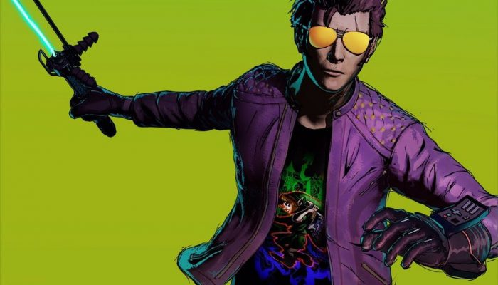 Travis Strikes Again No More Heroes celebrates its launch with a Majora's Mask commemorative t-shirt