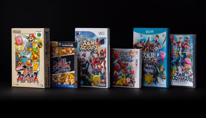 The Super Smash Bros. series celebrates its twenty-year anniversary