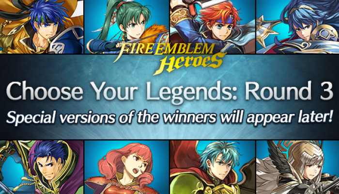 Fire Emblem Heroes getting a Choose Your Legends Round 3