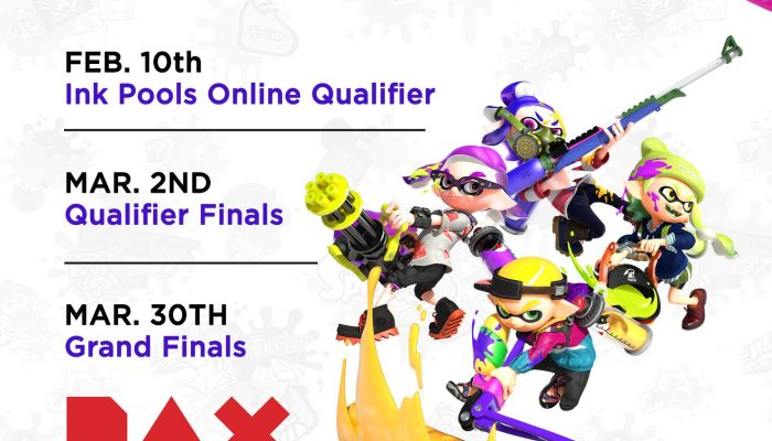 Here's a schedule infographic for the Splatoon 2 North America Inkling Open 2019