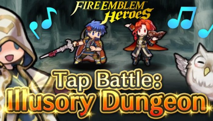 Tap Battle Illusory Dungeon Carrying the Flame in Fire Emblem Heroes
