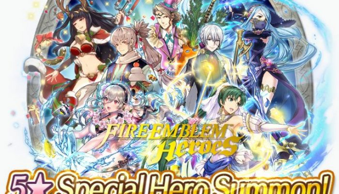 Getting a random 5-star Year 1 Special Hero in Fire Emblem Heroes