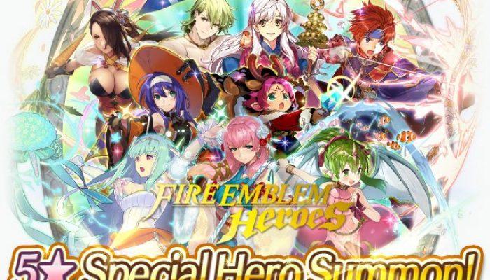 Getting a random 5-star Year 2 Special Hero in Fire Emblem Heroes