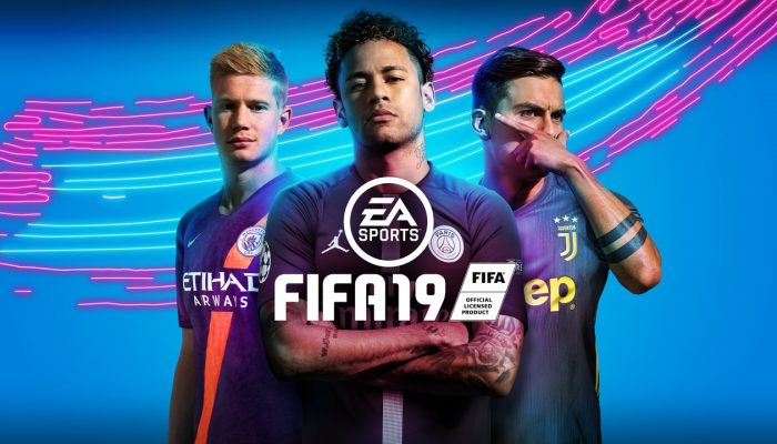 FIFA 19 celebrates its new cover with a sale