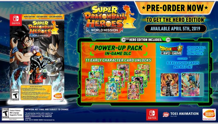 Here are the perks you get when pre-ordering Super Dragon Ball Heroes World Mission