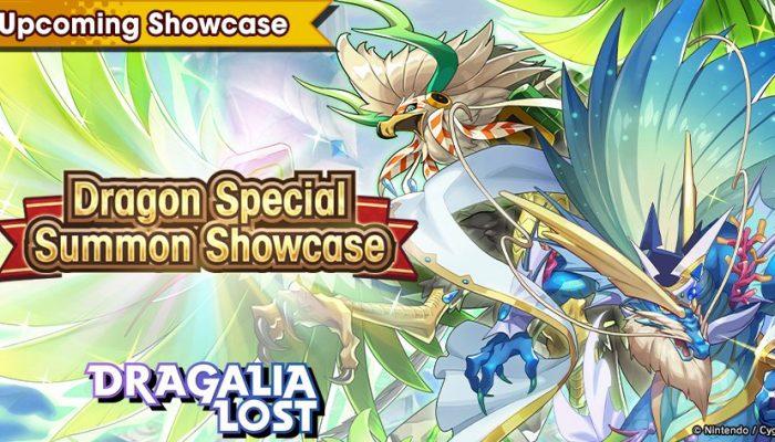 Dragon Special Summon Showcase in Dragalia Lost