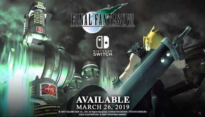 Final Fantasy VII comes to Nintendo Switch on March 26