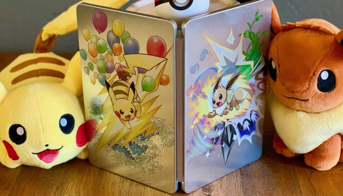The Pokémon Let's Go games get a limited edition Steelbook at Best Buy