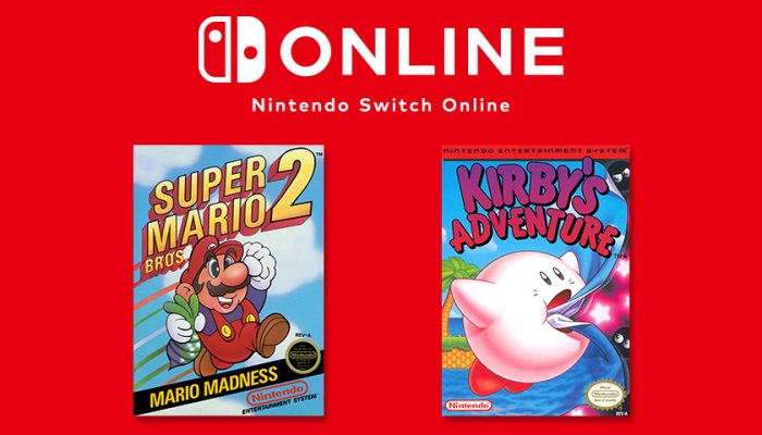 NoA: 'Mario and Kirby Classics Join NES — Nintendo Switch Online on Feb. 13'