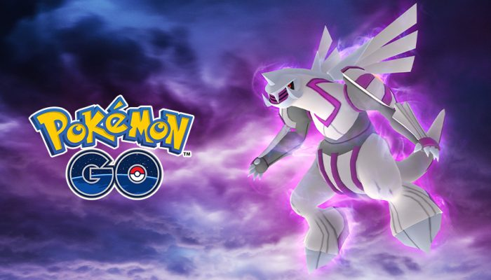 Niantic: 'Enter a new dimension of Raid Battles with the Legendary Pokémon Palkia!'