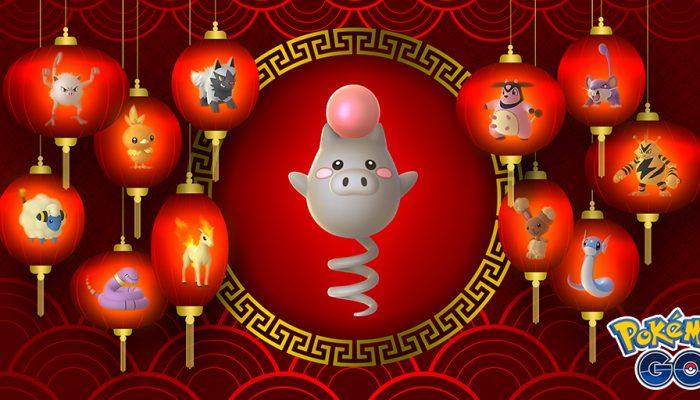 Niantic: 'Celebrate the Lunar New Year with Pokémon Go!'