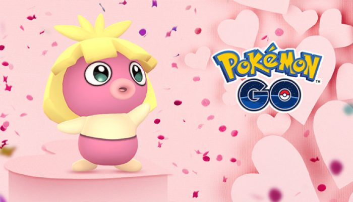 Pokémon: 'There's More to Love in Pokémon Go This Valentine's Day'
