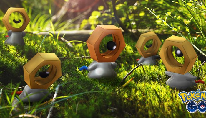 Niantic: 'Shiny Meltan will appear for a limited time!'