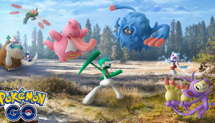 Niantic: 'Evolved forms discovered in the Sinnoh region emerge in Pokémon Go!!'