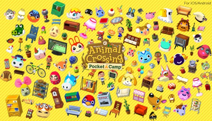 NoA: 'Put your interior design skills to the test in Animal Crossing: Pocket Camp'