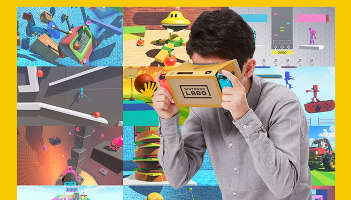NoA: 'Experience family-friendly VR with hippos, aliens, photography and more in new Nintendo Labo: VR Kit'
