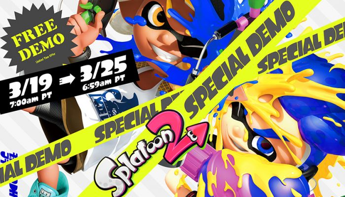 NoA: 'Splatoon 2 Special Demo comes with free online trial, 20% off full game'