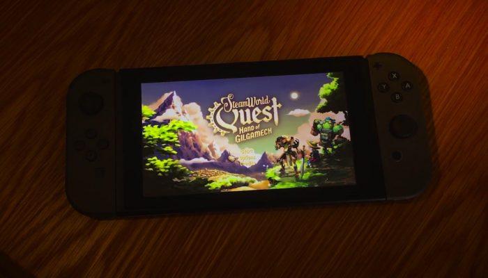 SteamWorld Quest – Title Screen Teaser