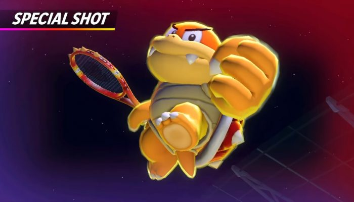 Mario Tennis Aces – Boom Boom Showcase