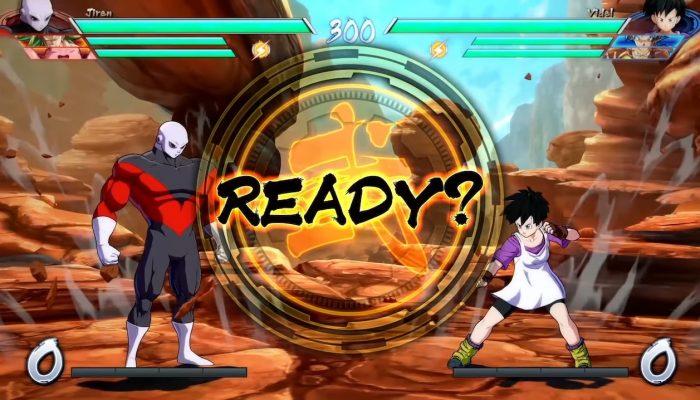 Dragon Ball FighterZ – Jiren VS Videl Gameplay