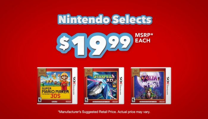 Nintendo 3DS – Nintendo Selects: Even More Games at a Great Price!
