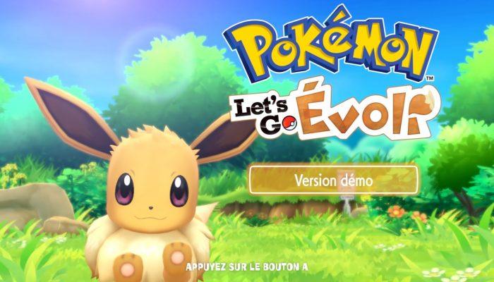 Pokémon Let's Go – Découvrez la démo gratuite sur le Nintendo eShop !