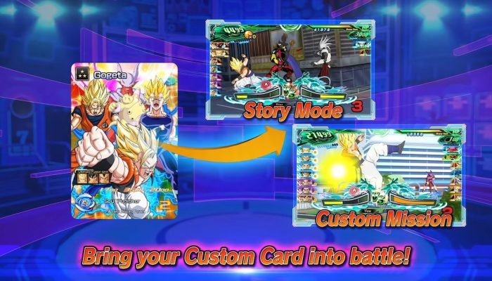 Super Dragon Ball Heroes: World Mission – Card Creation Trailer
