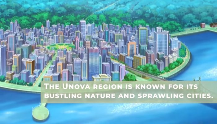 Explore Pokémon – Unova Region