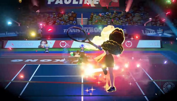 Mario Tennis Aces – Pauline Showcase